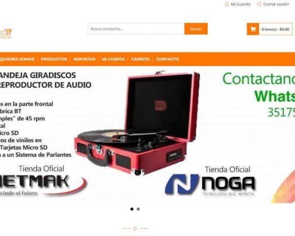 Espacio Digital diseño web ecommerce