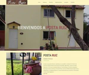 Diseño web para hoteles. Tradeweb posta ruiz
