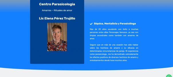 Diseño Web en Paraguay Amarres de amor. Centro de Parasicologia