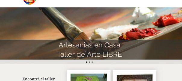 Diseño Web en La Calera Artesanias en Casa