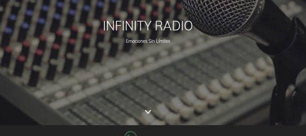Diseño Web en La Calera Infinity Radio