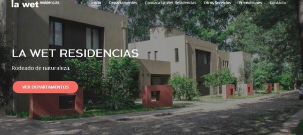Diseño Web Tartagal Salta La Wet Residencias