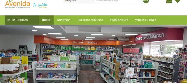Diseño Web Tartagal Salta Farmacia Avenida