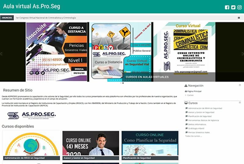 pagina web escuela20
