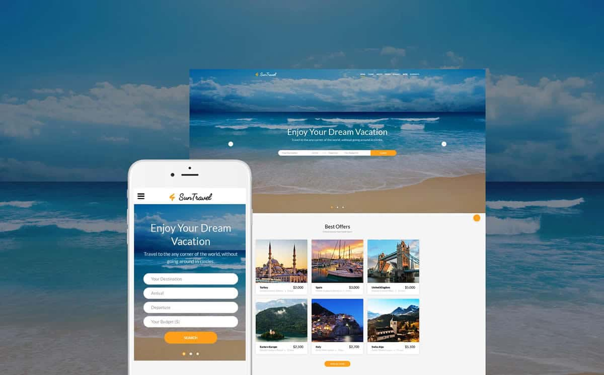 diseno web agencias de viajes
