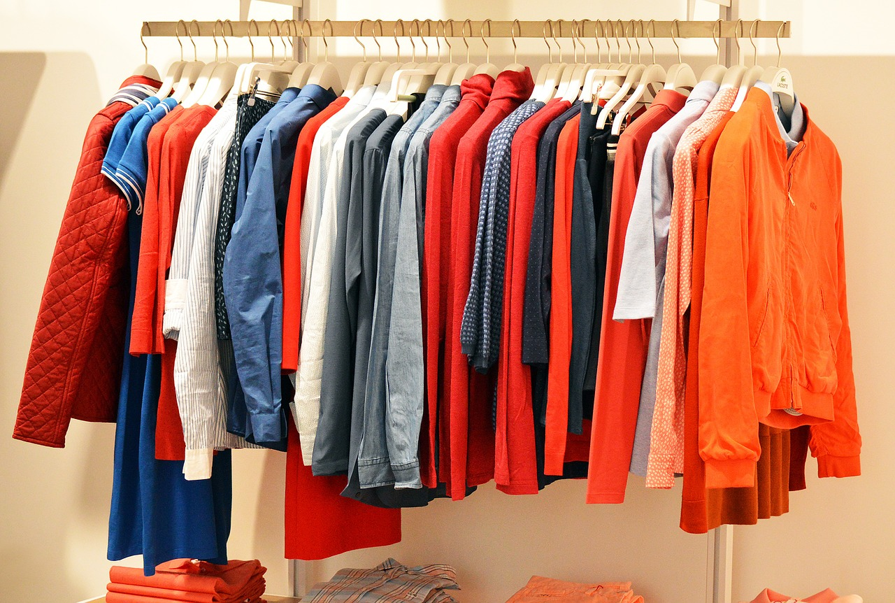 store, clothes, clothing